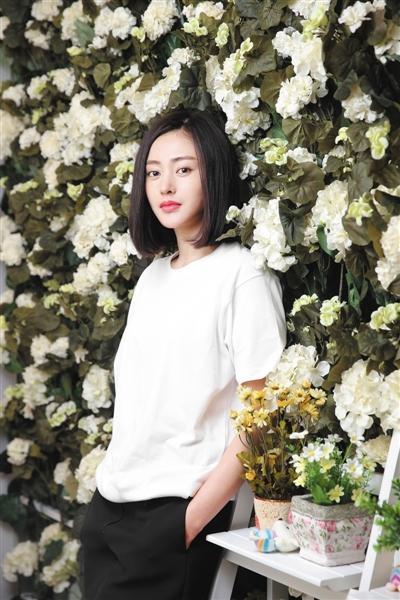 张天爱 摄影/新京报记者 郭延冰