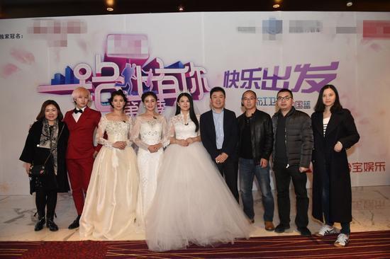 袁胡可李湘穿婚