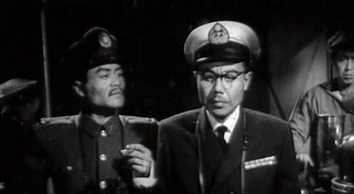王孝忠扮演的《赤峰号》中扮演的敌对舰长
