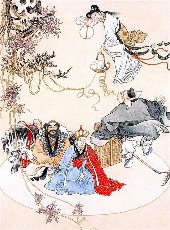 电影《西游记之孙悟空三打白骨精》经典重现版海报 -白骨精幻化人形