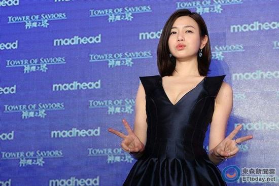 陳妍希稱喜歡陳曉父母 避談春節是否帶男方回家