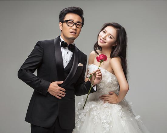 王铮亮和妻子