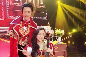 李云迪晒与欧阳娜娜合照拜年 将同台献演
