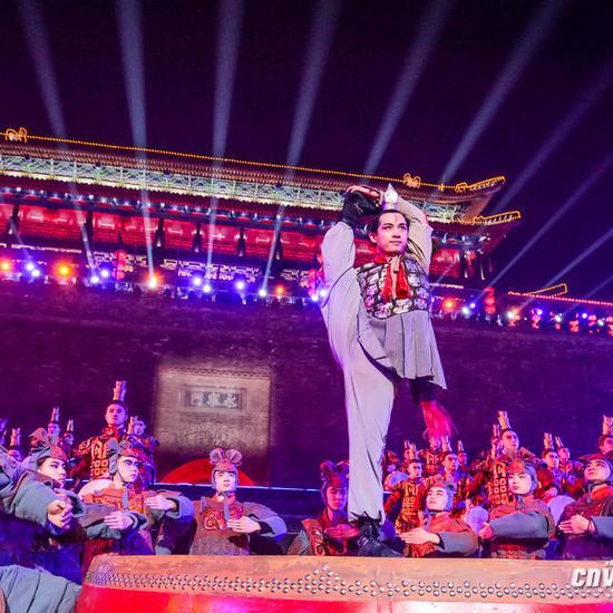 春晚西安分会场表演获赞大气美到爆