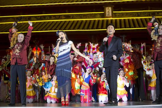 央视春晚泉州分会场舞台
