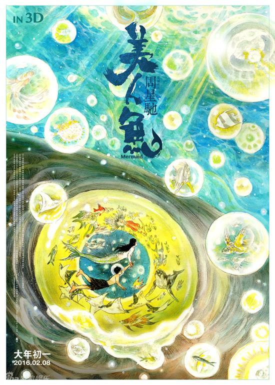 《美人鱼》海报