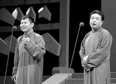 """何云伟、刘洪沂这对老少组合都在""""柳活""""方面十分擅长,此次他们将展示点儿戏曲方面的东西。田超供图"""