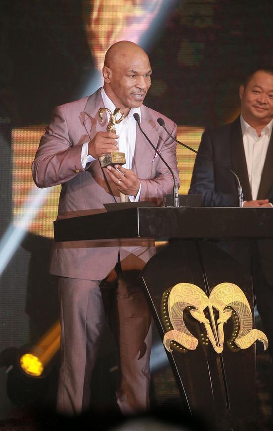 泰森澳门国际电影节获封最佳新演员