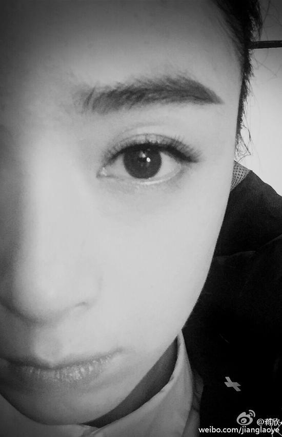 大眼睛特写
