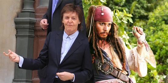 保罗-麦卡特尼加盟《加勒比海盗5》