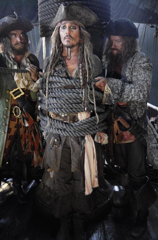 时隔六年之后 《加勒比海盗5》将于明年上映