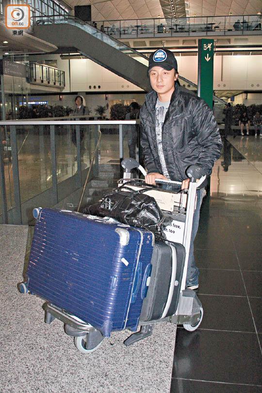 有指方力申昨天(3月27日)飞往长沙工作。