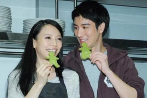王力宏和妻子资料图
