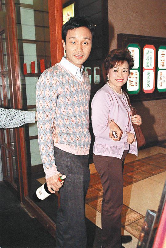 张绿萍当年未能与张国荣一起移居澳洲,令她后悔至今。