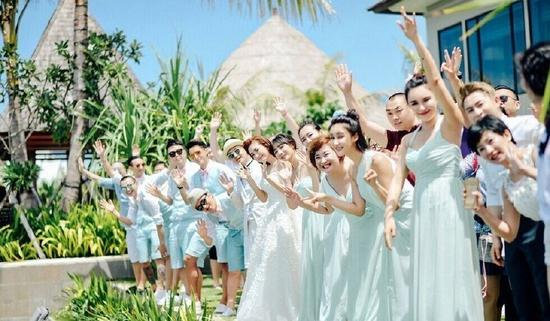 柳岩在包贝尔婚礼现场