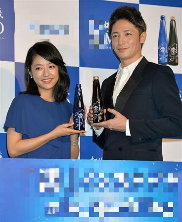 玉木宏出席广告发布会赞井上真央成熟有魅力