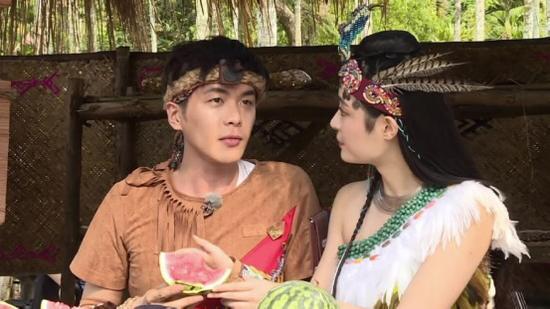 张若昀与李莎旻子
