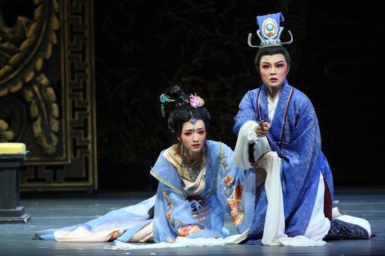 越剧《甄嬛》集中了上海越剧院十多位优秀中青年演员