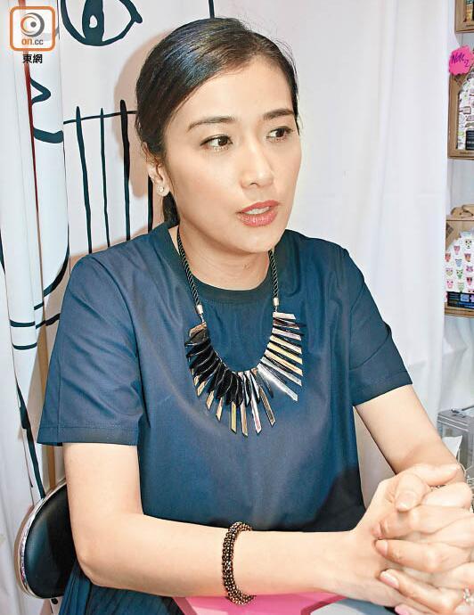 叶凯茵接受采访