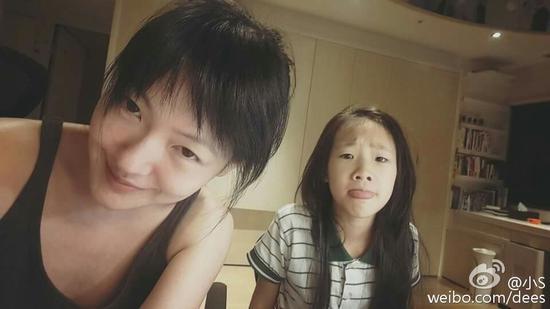 小S和女儿