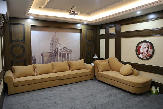 天宝国际影城中式风格特色演播厅