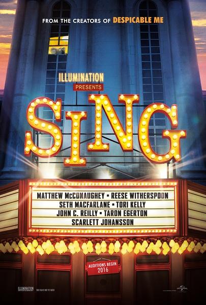 《Sing》海报