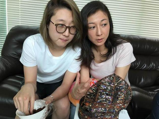 吴绮莉与女儿