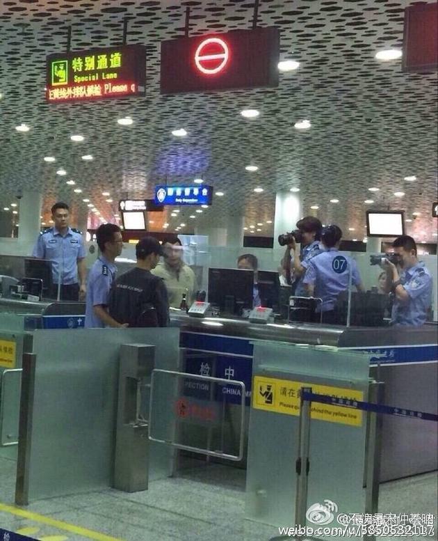 机场工作人员拍宋仲基