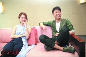 李克勤容祖儿广州个唱用情歌展示爱情故事