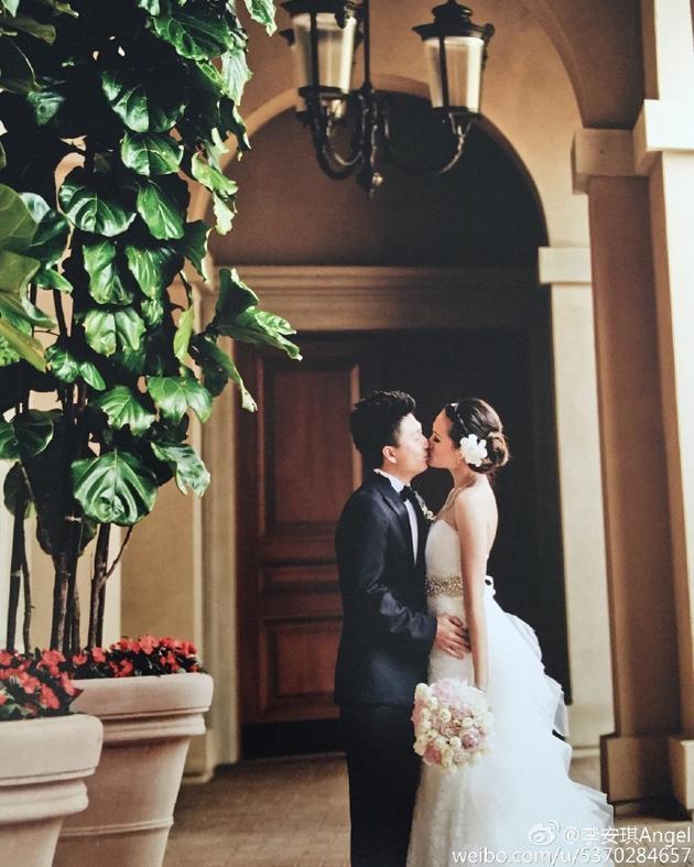 李小鹏与安琪结婚六年