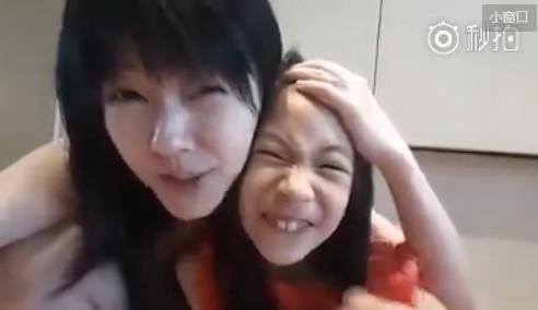 小S与二女儿