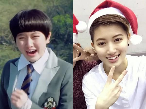 郑靓歆曾主演过大陆偶像剧《落跑甜心》,当时挨酸像智障女主角,现在变的超帅气!
