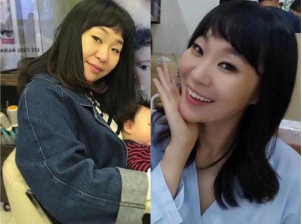 韩女星怀孕一天吃7餐爆肥 产后狂减17KG