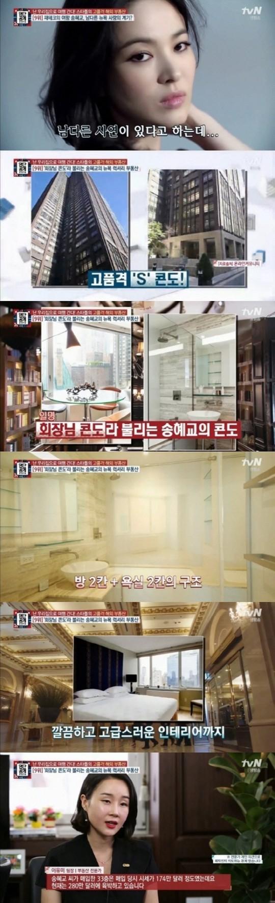 韩媒报道宋慧乔纽约房产