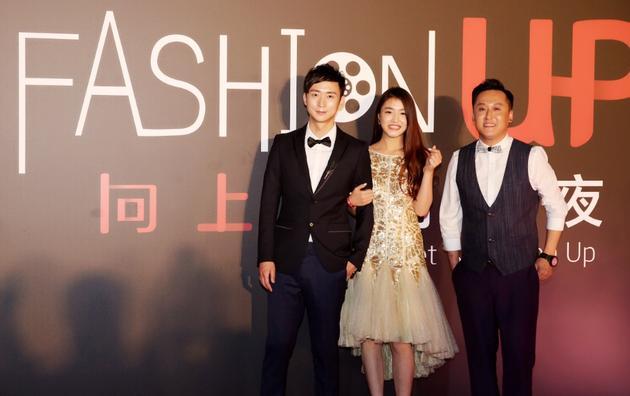 左:青年演员冯博 中:新生代演员曾梦雪 右:著名演员李世鹏