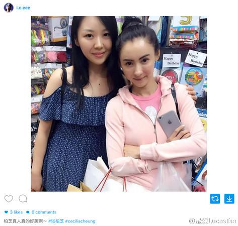 张柏芝在新加坡旅游,和粉丝合照掀起轰动。