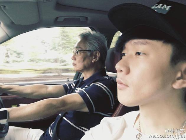 林俊杰与父亲