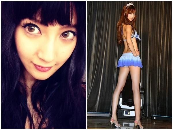 菜菜绪以超长美腿著称,是日本的知名模特儿。