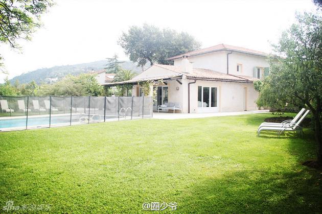 刘烨在法国尼斯的别墅