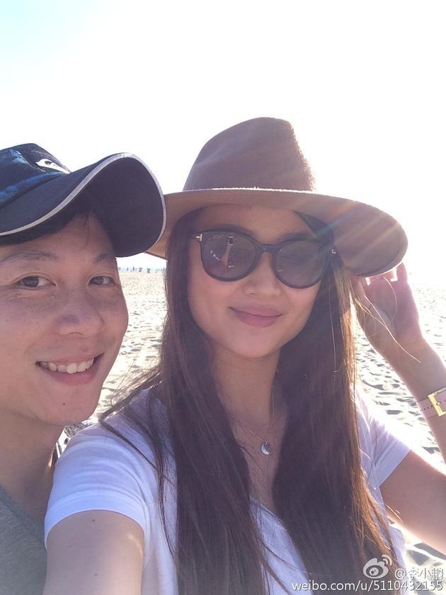 李小鹏与妻子李安琪