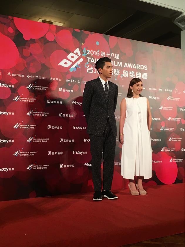 王大陆台北电影节现场