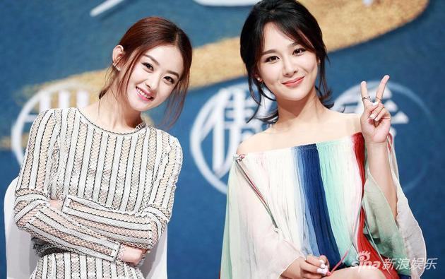 《青云志》赵丽颖、杨紫同台秀甜蜜,破不和传闻。