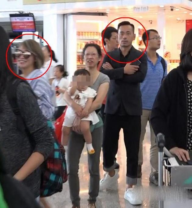 此前,陈慧玲同周焯华共同现身机场