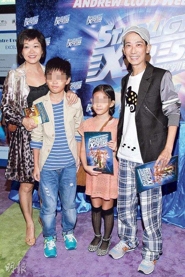 张达明与太太何念慈将会以友爱态度共同教养一对子女,让他们正确地、愉快地成长。