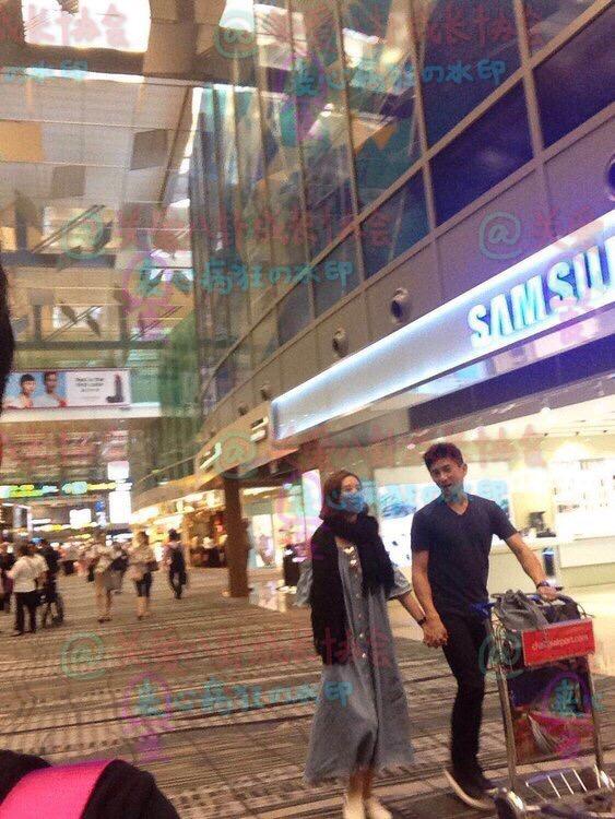 吴奇隆刘诗诗新加坡逛街