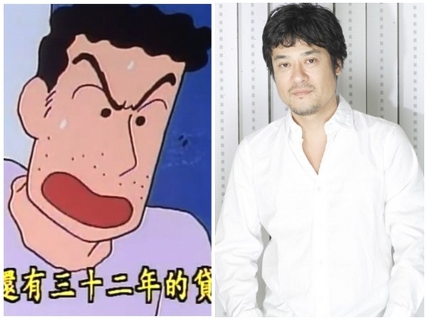 藤原启治是小新爸爸的配音演员