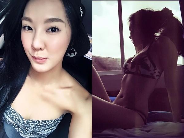 刘雨柔前往泰国游玩,大方晒比基尼