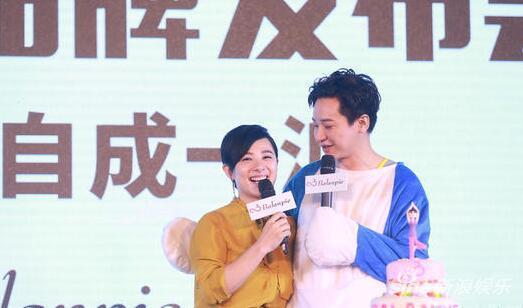 刘璇转型经商 老公支持
