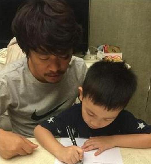 王宝强和儿子
