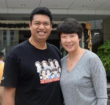 冯坤:嫁泰国排球男神